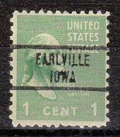 USA Precancel Vorausentwertung Preo, Locals Iowa, Earlville 734 - Vereinigte Staaten