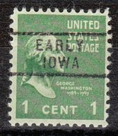 USA Precancel Vorausentwertung Preo, Locals Iowa, Early 729 - Vereinigte Staaten