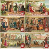 """(FI).Figurine Liebig.Serie""""Storia Della Macchina A Vapore"""".1908.Unificato N° 935.val. 24,00 (198-a14) - Liebig"""