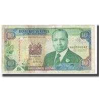 Billet, Kenya, 10 Shillings, 1989, 1989-10-14, KM:24a, TB - Kenya