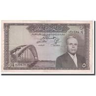 Billet, Tunisie, 5 Dinars, KM:59, TTB - Tunisie