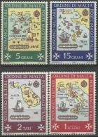 SMOM 1968, Sedi Dell'Ordine (**), Serie Completa - Sovrano Militare Ordine Di Malta