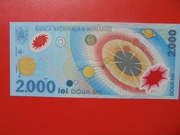 ROUMANIE 2000 LEI 1999 PEU CIRCULER/NEUF - Roumanie