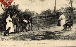 LANDES JOUEURS DE QUILLES LE RAMPEAU - Francia