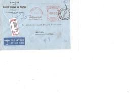 Belg.Lettre De La Banque De BXL-Agence BXL *38* 3.11.50 En Recommandé 8FR V.Norvège. TB - Marcophilie