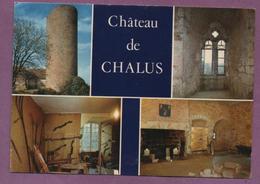 87 - CHALUS - L E Château-fort - Multivues - Chalus