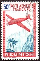 Réunion Obl. N° PA 17 - Avion Survolant L'île - Réunion (1852-1975)