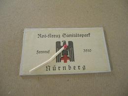 Glace Miroir Allemand Seconde Guerre Croix Rouge Nuremberg - Equipement