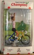 Norev 1/43° Tour De France Cycliste Maillot à Pois (sponsor Champion) Neuf En Boite - Figurines