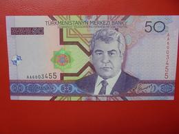 TURKMENISTAN 50 MANAT 2005 PEU CIRCULER/NEUF - Turkménistan