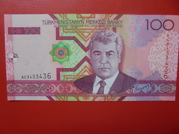 TURKMENISTAN 100 MANAT 2005 PEU CIRCULER/NEUF - Turkménistan