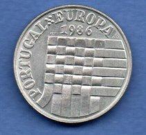 Portugal -  25 Escudos 1986     -  Km # 635  -  état  TTB+ - Portugal