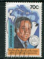 BARBADES- Y&T N°886- Oblitéré - Barbades (1966-...)