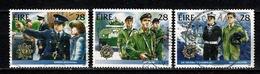 Eire 1988  Yv & T 661/662/663, Mi 659/660/661 Used - 1949-... République D'Irlande