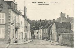 Ac14/     89   Ancy Le Franc    Route De La Comelle - Ancy Le Franc