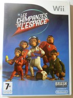 JEU WII LES CHIMPANZES DE L'ESPACE COMPLET FONCTIONNEL TESTE TBE PAL FR - Jeux électroniques