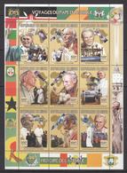 Niger MNH Sheet Pope - Niger (1960-...)
