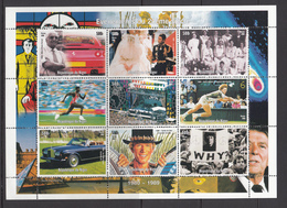 Niger MNH Sheet Events Of The 20th Centry 1980-1989 - Niger (1960-...)