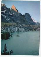U4481 Cartolina COURMAYEUR (AOSTA) LAGO E GHIACCIO DI MIAGE _ 027 Ed Bottega D'arte Alpina - Altre Città