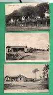 Militaria  Versailles Camp De Satory Lot De 3 Cartes Postales - Caserme