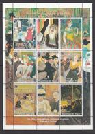 Niger MNH Sheet Henri De Toulouse 1864-1901 - Niger (1960-...)