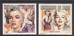 Niger MNH Set Marilyn Monroe - Niger (1960-...)