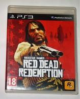 JEU PS3 RED DEAD REDEMPTION COMPLET AVEC CARTE/ FONCTIONNE / FRANCE PAL - Sony PlayStation