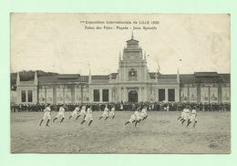 LILLE - 1ère Exposition Internationale De LILLE 1920 Palais Des Fêtes - Façades - Jeux Sportifs - Lille