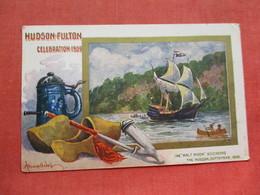 Signed Artist  Wall  Hudson Fulton Celebration  1909   -ref 3411 - Exhibitions