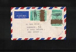 Ghana Interesting Airmail Letter - Ghana (1957-...)