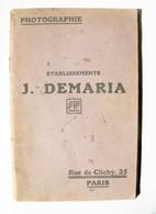 Catalogue Général Photographie 1922 Ets Demaria - Photographie