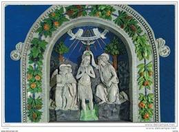 SANTA  FIORA (GR):  CHIESA  PARROCCHIALE  -  ANDREA  DELLA  ROBBIA  -  BATTESIMO  DI  GESU' -  FG - Quadri, Vetrate E Statue