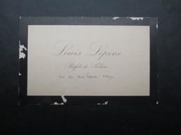 CARTE DE VISITE - CDV (V1907) LOUIS LéPINE (3 Vues) Préfet De Police - Lyon 6/08/1846 - Paris 9/11/1933 - Cartes De Visite