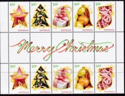 "Australia 2009 ""Christmas"" Mint Never Hinged Gutter - Nuovi"