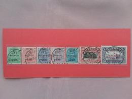 BELGIO - Occupazioni Della Germania 1919/21 - EUPEN E MALHEDY - Nn. 1/7 Timbrati + Spese Postali - Belgio