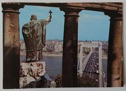 BUDAPEST - Magyar - Szent Gellért-szobor - Saint Gellert Statue - Bridge -   Vg - Ungheria