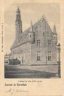 Souvenir De  Hérenthals NA4: L'Hôtel De Ville 1905 - Herentals
