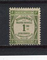 FRANCE - Y&T Taxe N° 43* - 1859-1955 Neufs