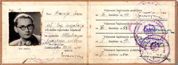 MERCHANT INSPEKTOR , SLOVENIA , YUGOSLAVIA 1959 - Documenti Storici