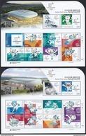 South Korea KPCC2581-2600 2018 PyeongChang Winter Olympics, Tiger, Mascot, Jeux Olympiques, Full Sheet - Winter 2018: Pyeongchang