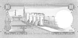 10 Syrian Pounds 1991 UNC (I) - Syrien