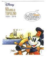 ITALIA - 90 Anni Di Topolino - Mini Folder. - 1946-.. République