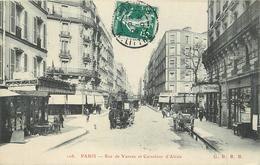PARIS - Rue De Vanves Et Carrefour D'Alésia. - Distretto: 14