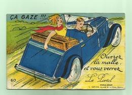 LE PORTEL - Carte à Système  (voiture Bleue) - Le Portel
