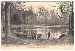 CPA Robinson, La Mare De Saint- Leu, Gel. - Autres Communes