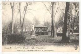 36 - CHATEAUROUX - Le Jardin Public - Chateauroux