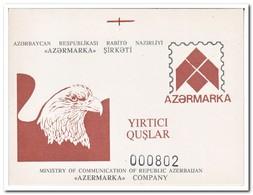 Azerbeidzjan 1994, Postfris MNH, Birds Of Prey ( Booklet, Carnet NUMBERED ) - Azerbeidzjan