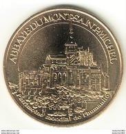 Monnaie De Paris 50.Mont Saint Michel - Abbaye 2009 EVM - 2009