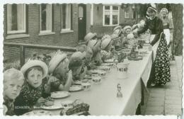 Schagen 1963; Westfriese Kindermaaltijd - Gelopen.  (Plukker - Schagen) - Schagen