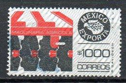MEXIQUE. Timbre Oblitéré. Machine Agricole. - Agriculture
